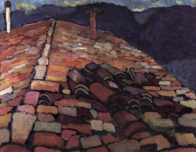 Roof Tiles, Domaine des Jasses : Anthony Murphy Artist
