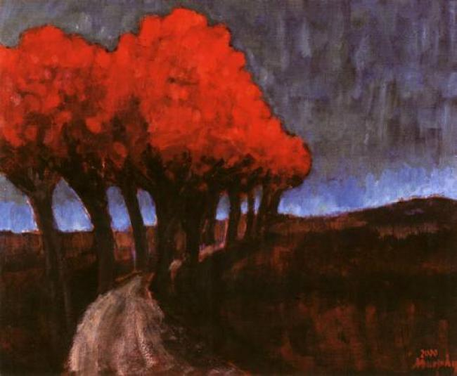 Avenue of Trees, Prouilhe : Anthony Murphy Artist