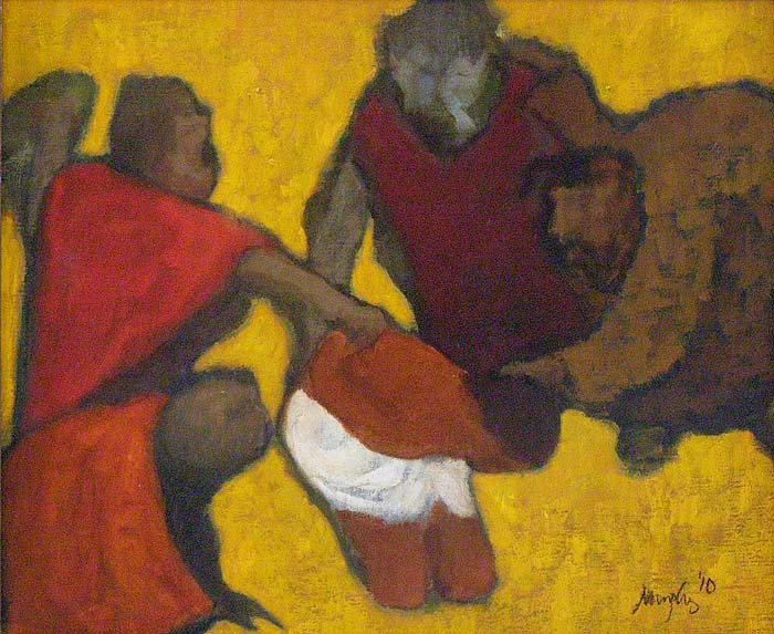 The Mocking of Christ : Anthony Murphy Artist