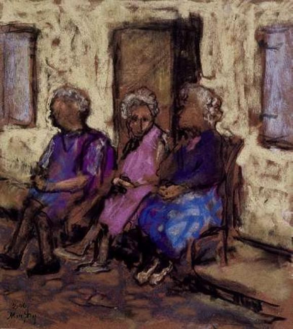 Sitting Out, Carla Bayle : Anthony Murphy Artist