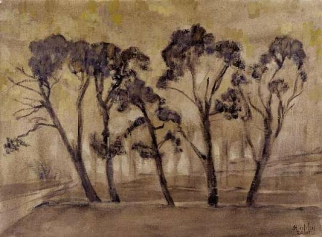 Avenues of Trees, The Laurgais : Anthony Murphy Artist