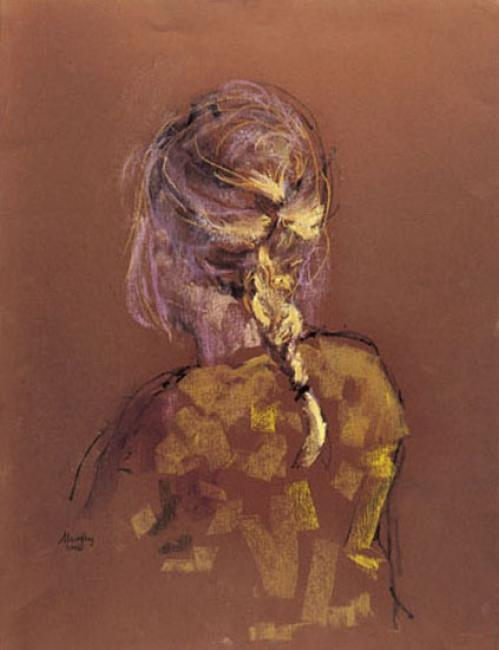 Girl with Plait : Anthony Murphy Artist