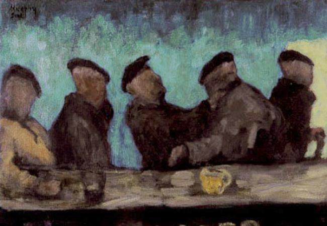 Kilberg Pier Bar, Co. Galway : Anthony Murphy Artist