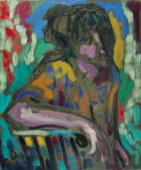 Seated Woman : Anthony Murphy Artist