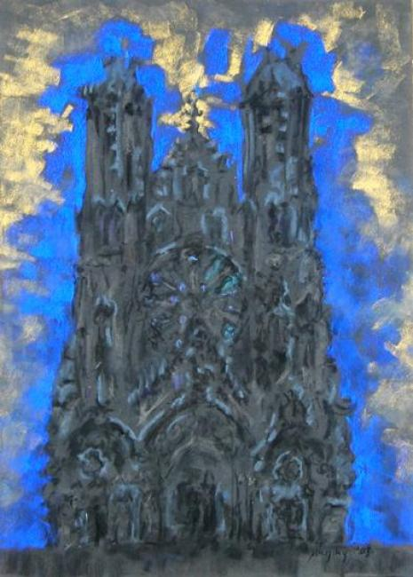 Rheims Cathedral : Anthony Murphy Artist