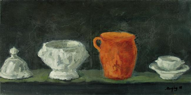 Still Life with Delft : Anthony Murphy Artist
