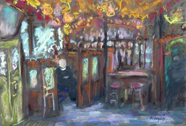 The Priests in the Pub : Anthony Murphy Artist