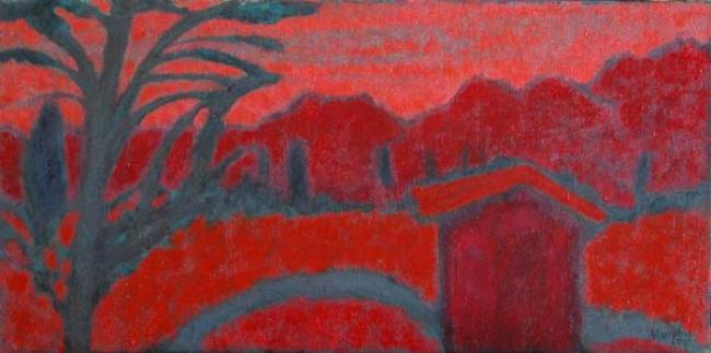 Sunrise, The Luberon : Anthony Murphy Artist