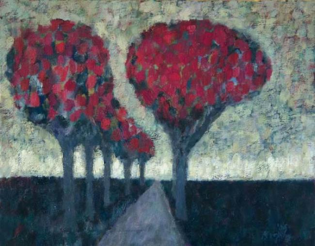 Avenue of Trees : Anthony Murphy Artist