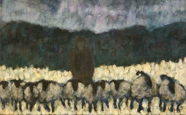 The Shepherd : Anthony Murphy Artist