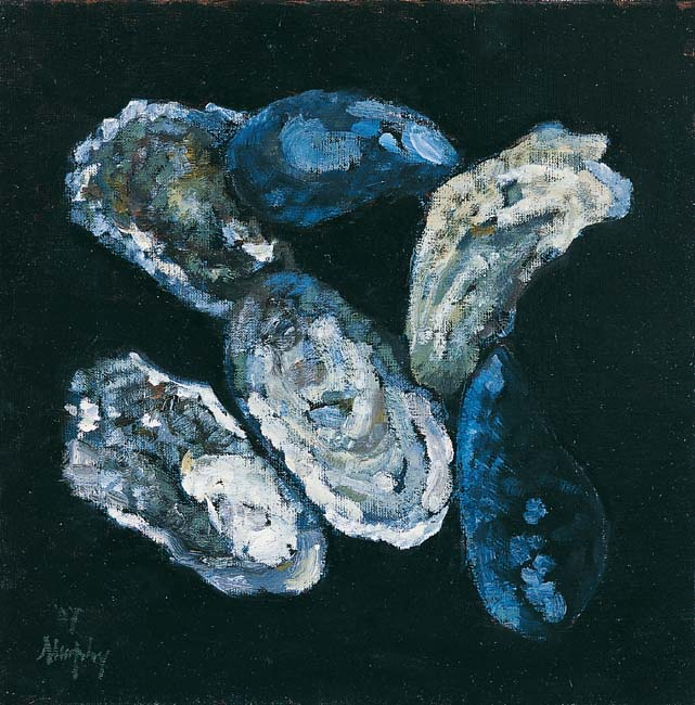 Still Life with Oysters : Anthony Murphy Artist