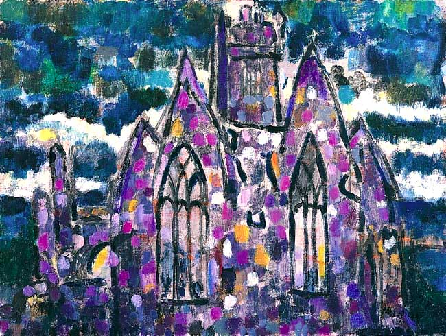 Ross Abbey : Anthony Murphy Artist