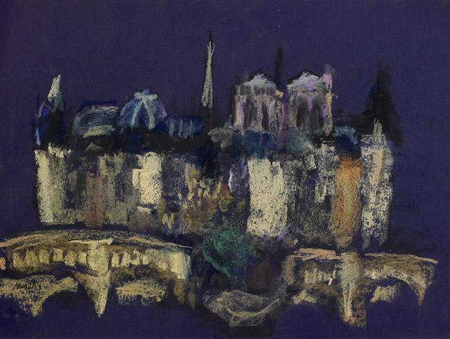 Île de la Cité, Paris : Anthony Murphy Artist