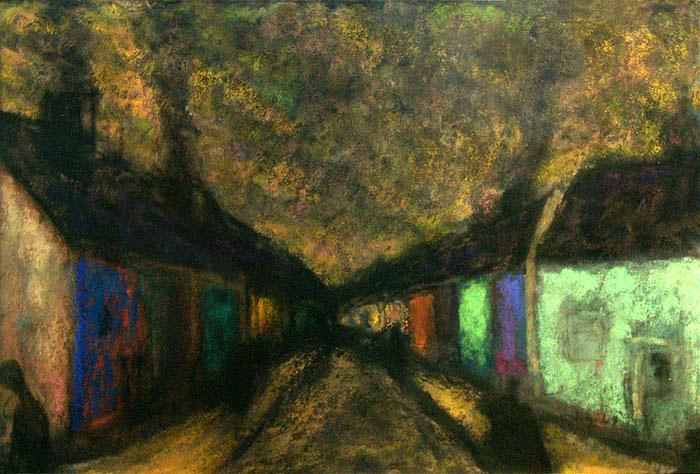 Main Street Headford : Anthony Murphy Artist