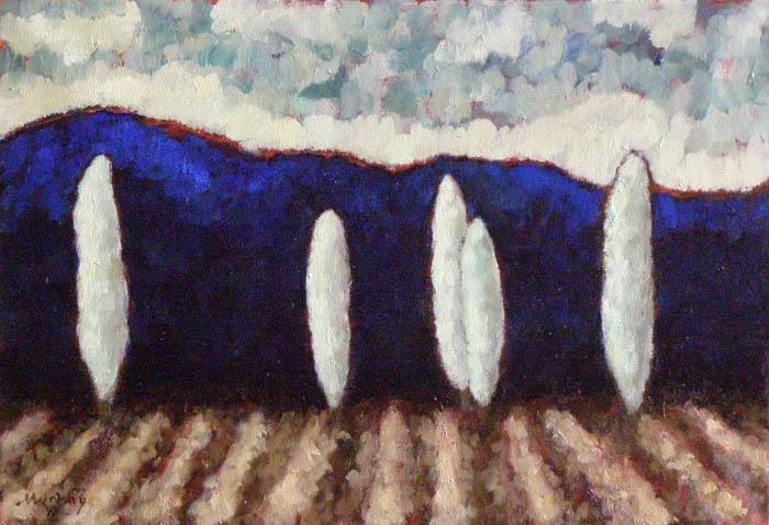 La Dordogne : Anthony Murphy Artist