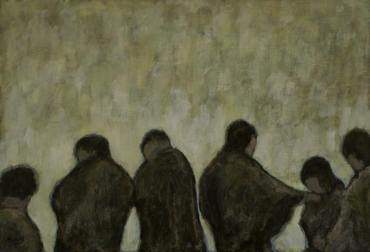 Magdalene Adored : Anthony Murphy Artist