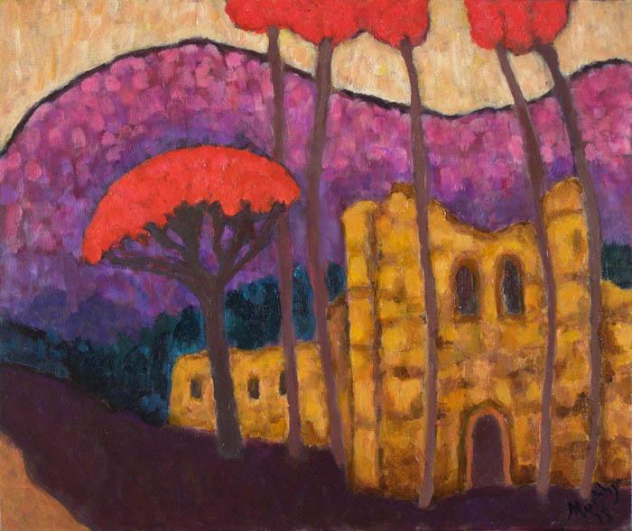 L'Abbaye d'Alet-les-Bains : Anthony Murphy Artist