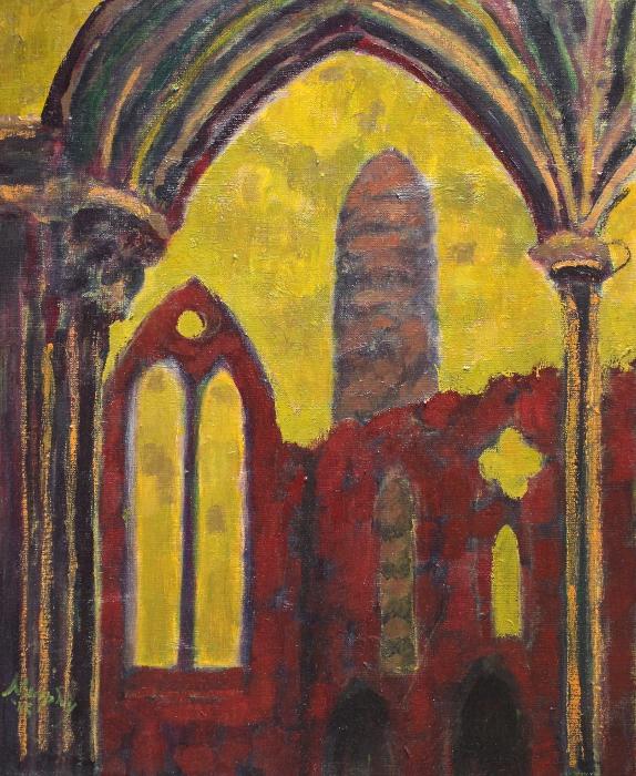 Cashel 61 x 50 cm oil