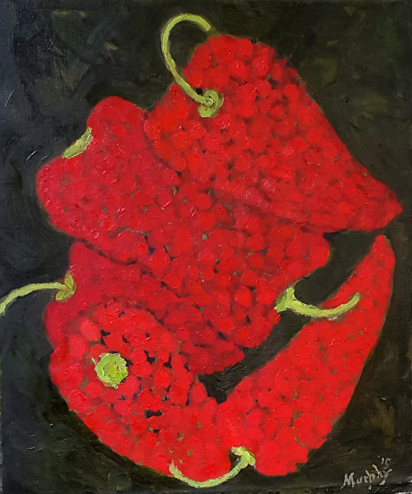 Red Peppers 55 x 46 cm oil on canvas - site format.jpg
