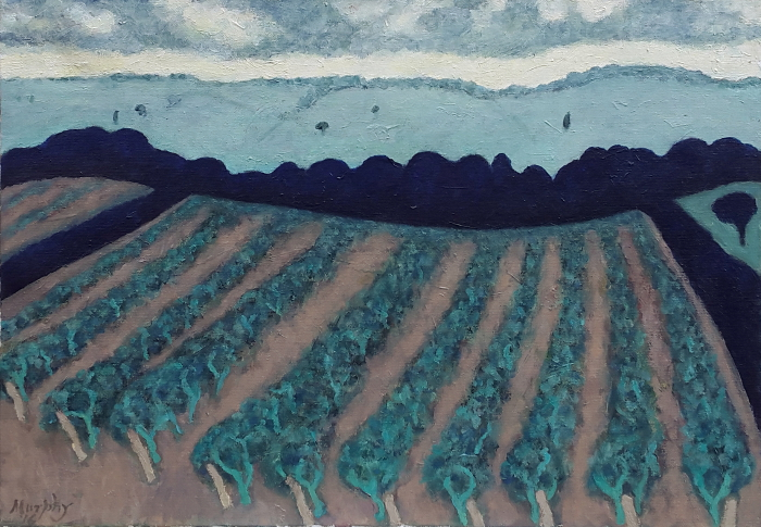The Vineyard 65 x 46 cm oil on canvas - web format