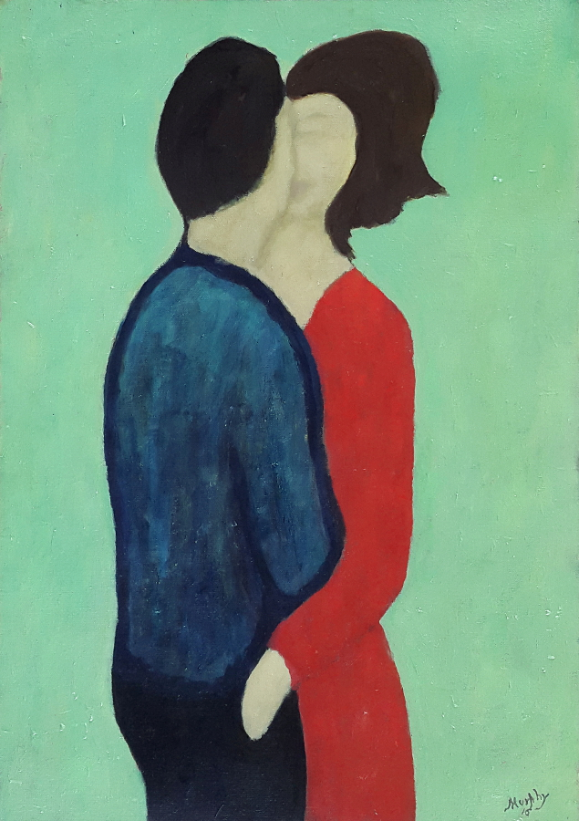 Price of a Kiss 65 x 46 cm oil on canvas - web format