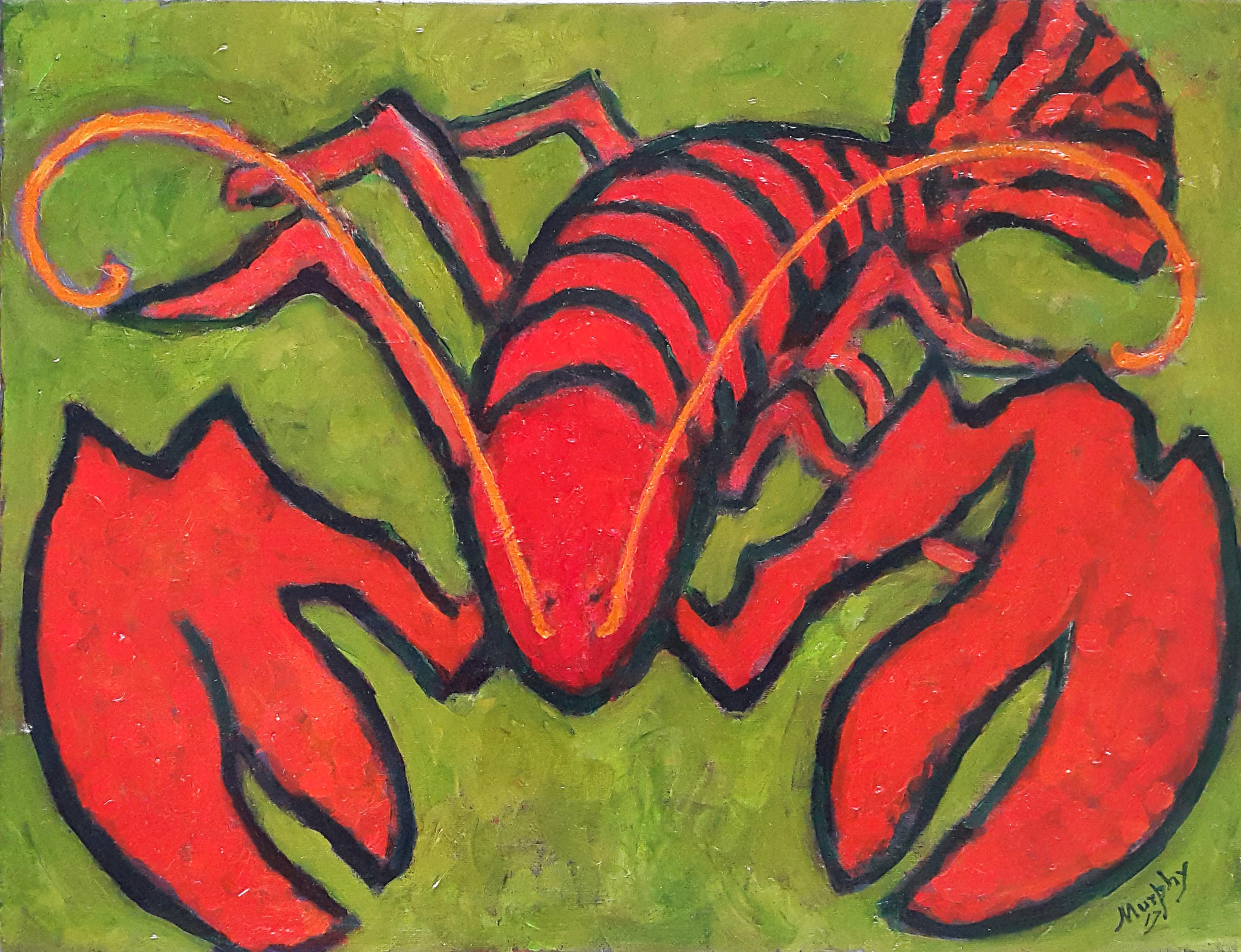 The Lobster 65 x 50 cmoil on canvas