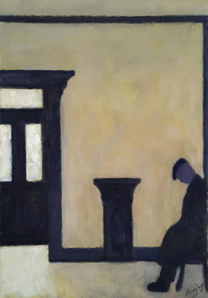 The Snug 65 x 46 cm oil on canvas - web