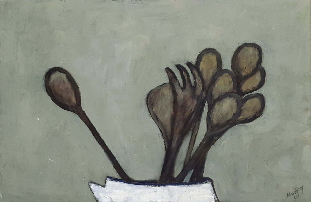 The Wooden Spoon 55 x 38 cm oil on canvas - web format