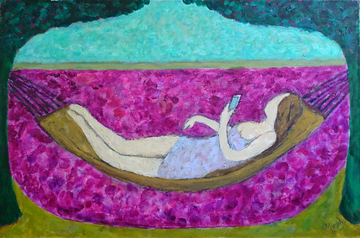 La Belle Dame sans Merci 73 x 50 cm oil on canvas - web