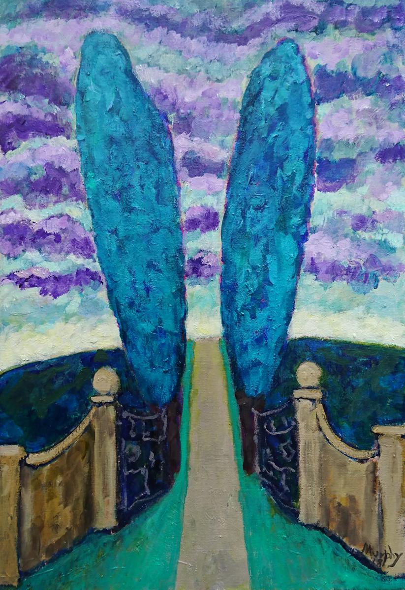 Le Domaine Perdu 65 x 46 cm oil on canvas - web