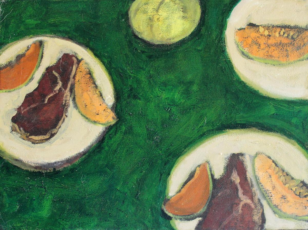 Parma-Ham-and-Melon-65-x-50-cm-oil-on-canvas-web