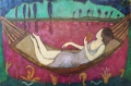 La Rêverie 73 x 50 cm oil on canvas - web