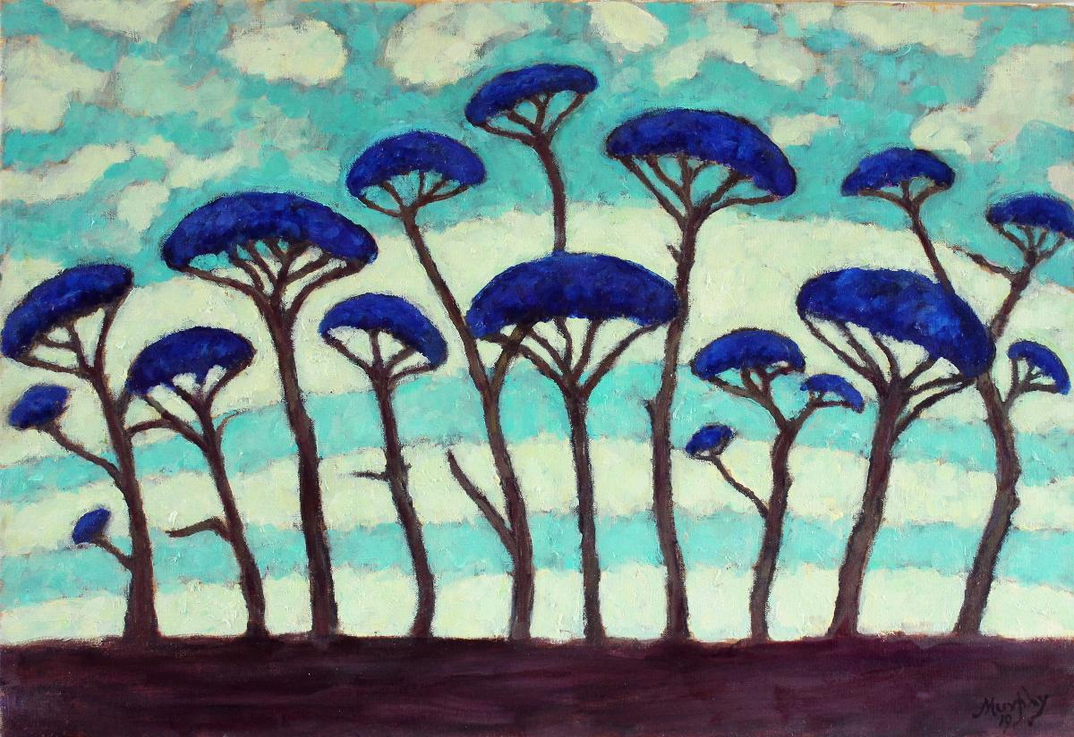 Cedars of Lebanon 73 x 54 cm oil on canvas -  web