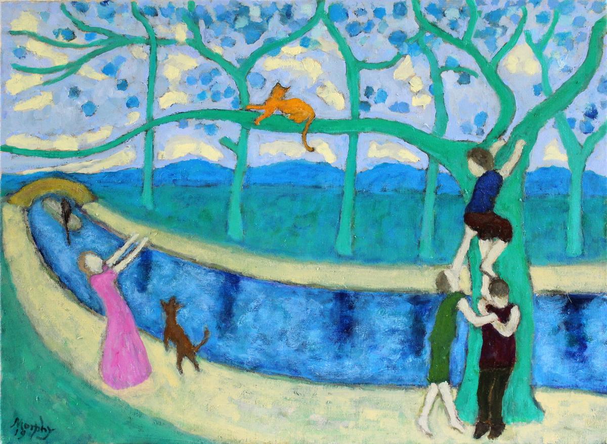 Love 65 x 50 cm oil on canvas - web