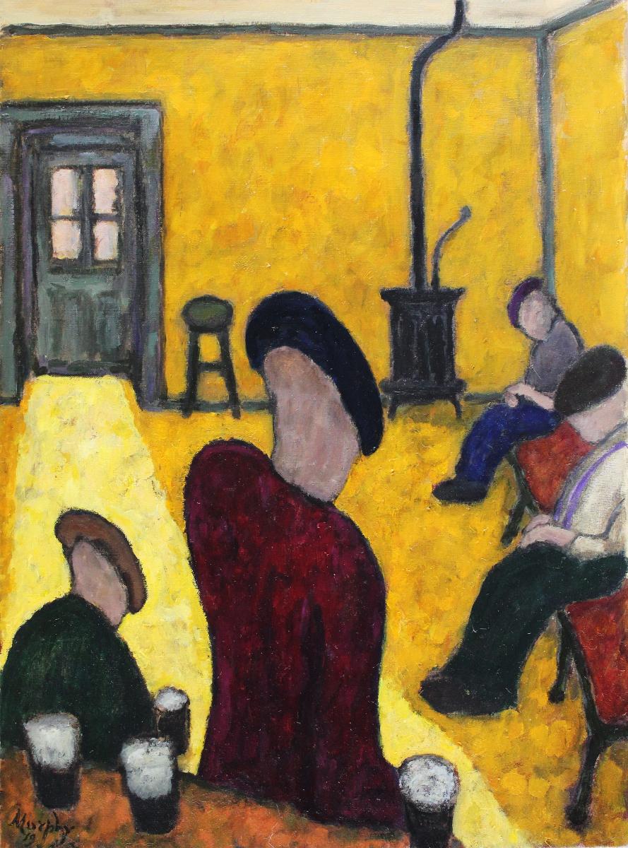 Paddy Burke's  Clarinbridge 73 x 54 cm oil on canvas - web