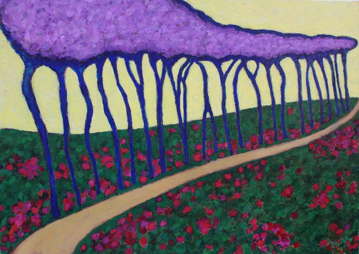 Spring 73 X 54 cm oil on canvas - web