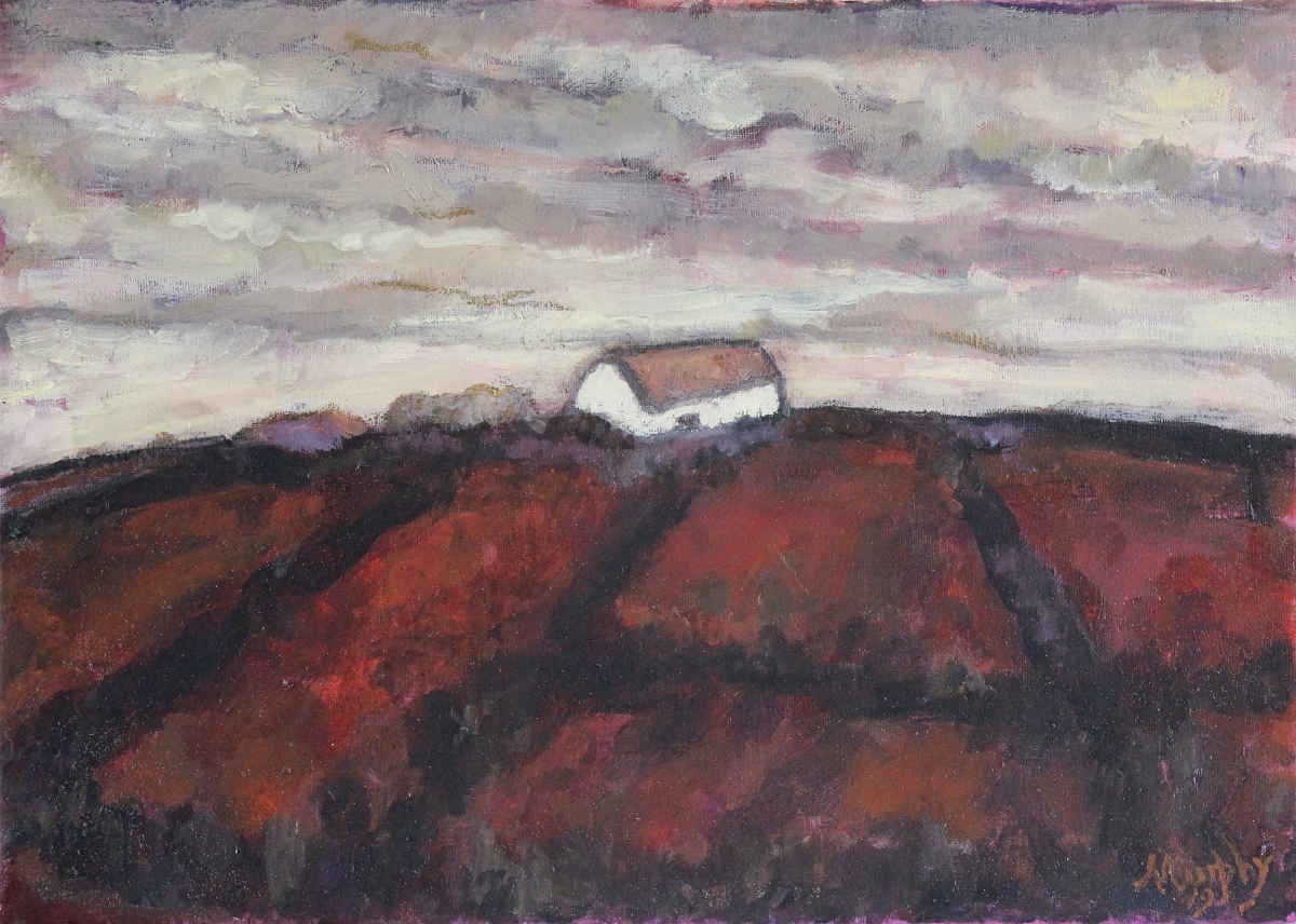 The Old Forge 46 x 33 cm oil on canvas - web