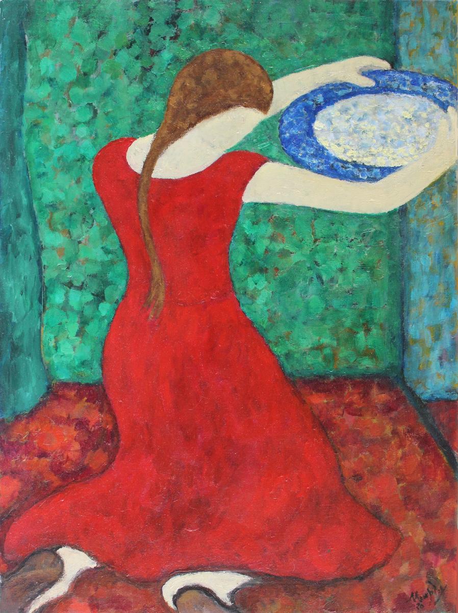 Mary Magdalene 73x54cm Oil on Canvas