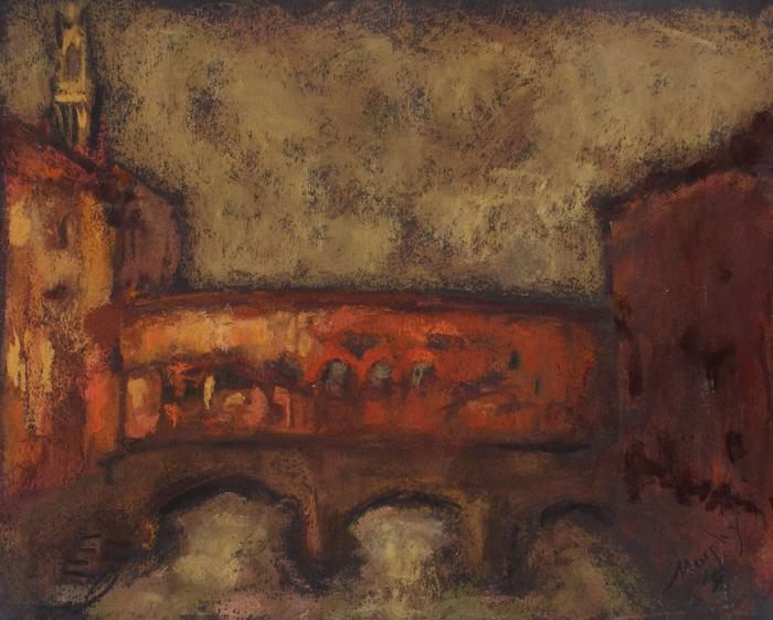 Pontevecchio Florence : Anthony Murphy Artist